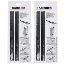 KARCHER WV2 WV5 WV50 Window Vacuum Vac Rubber Lip Squeegee Blades 280mm x 4