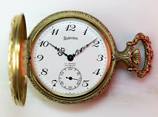 Swiss UNITAS / ETA 6498 17 Jewel ANDERSON hunter  case pocket watch running