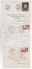 France  6 FDC enveloppes timbres 1er jour des années 70 /FDC170