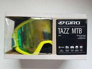 Giro Tazz MTB Mountain Bike Goggles Citron Fanatic Loden Green Lens - New in Box