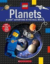 LEGO Nonfiction PLANETS children's Scholastic book Solar System facts space NEW