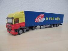 """Herpa - DAF CF 85 Megatrailer """"e van wijk"""" - Nr. 147910 - 1:87"""