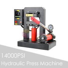 NEW Manual Hydraulic Flower Rosin Press Machine Dual Heat Press 12cmx12cm Plates