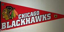"Chicago Blackhawks NHL Full Size New Pennant 12 x 30"""