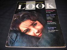 ELIZABETH TAYLOR ROCKEFELLER HITLER ATOMIC SEX FICTION SEURAT PAINTING LOOK 1960