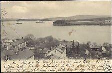 sweden, NORA, med en del af Ön, Panorama (1905)