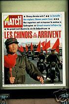 PARIS MATCH Yanne Soljenitsyne Lip Kissinger Golan