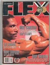 FLEX bodybuilding fitness muscle magazine Mike Christian /Lou Hulk Ferrigno 7-88