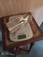 4 Couverts de Table Style Art Déco Orfèvrerie Alfénide