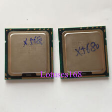 PAIR of (2)Intel Xeon X5680 3.33 GHz 6-Core Processeur Prise 1366 Dual-Way CPU