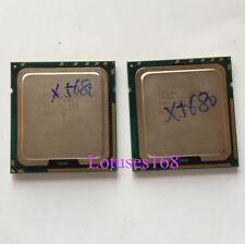 PAIR of (2)Intel Xeon X5680 3.33 GHz 6-Core Processeur Prise 1366 Dual-Way CPU