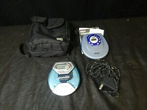 PORTABLE CD PLAYER LOT 2 PC RCA THOMPSON RP-2300A W/ ADAPTER & PHILIPS AX5111/17