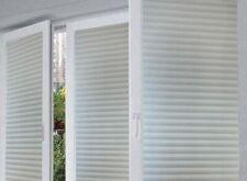 Arthome - Privacy Window Films Decor 35.4x100 inch - Glue Free - Color: Shutters