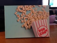 I LOVE POPCORN BATIK PHOTO- GREAT GIFT ONLY $1