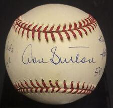 Don Sutton LA Dodgers signed NL stat Baseball autograph rare INS HOF CBM COA