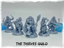 The Thieves Guild Set of 5 Miniatures 28mm Dungeons and Dragons DnD Mini