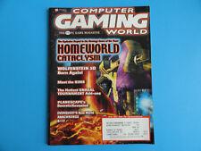 COMPUTER GAMING WORLD MAGAZINE APRIL 2000 ISSUE 189- HOMEWORLD CATACLYSM +MORE