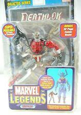 Deathlok 6 inch figure BAF Piece Missing Toybiz Marvel Legends Galactus series