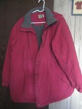 LL Bean winter jacket coat size 2X EUC!!  Cranberry color!!