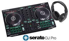 Roland DJ-202 DJ Controller w/ FULL Version of Serato DJ & FREE DJ Headphones
