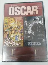 EL LEON EN INVIERNO + LA DILIGENCIA JOHN WAYNE JOHN FORD DVD NEW SEALED NUEVA
