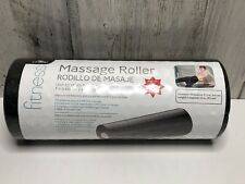 Fitness Foam Massage Roller With Exercise Chart Included, (13� L X 5.5� W) New