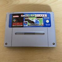 Sensible Soccer European Champions - Super Nintendo SNES - PAL - cartridge only