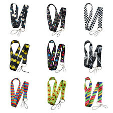 Work ID Lanyard Neck Strap Holder with metal hook for phone & Badge or Keys