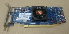 5x AMD ATI Radeon HD 6450 512 MB DVI Display Port PCI-E basso GPU scheda grafica Pro