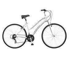 Schwinn Network 1.0 700c Womens 16 Hybrid Bike,16-Inch/Small,White- S4017D NEW