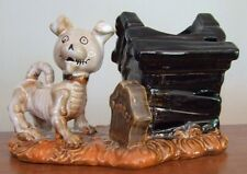 Yankee Candle Boney Bunch Bonesy Doghouse Votive or Tea Light Holder NEW 2013