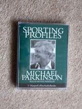 MICHAEL PARKINSON - SPORTING PROFILES - AUDIO BOOKS   ( NEW)   (   2 CASSETTES )