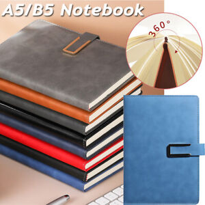 A5/B5 Notebook  Thickened Notepad Work Super Thick Business Office Leather Diary