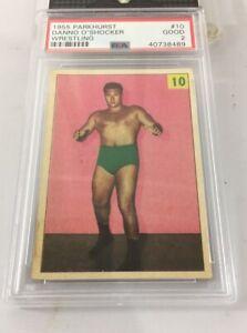 Danno O'shocker 1955 Parkhurst Wrestling #10 Psa 2 Pop 21
