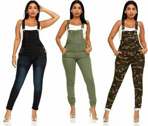 YDX Smart Jeans Juniors Overalls Denim Skinny Long Pant Solid or Ripped Acid...