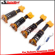 Coilovers for Subaru Impreza Forester WRX GDB GDA 2002 2003 2004 2005 2006 2007