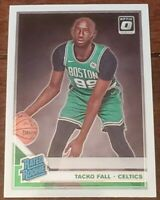 Tacko Fall 2019-20 Donruss Optic Rated Rookie RC #161