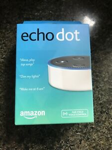 AMAZON ECHO DOT (2nd Generation) WITH ALEXA SMART ASSISTANT - NEW