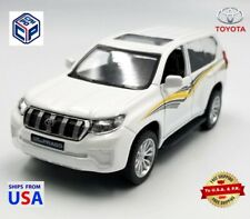CAIPO 2019 Toyota Land Cruiser, Prado SUV Diecast Metal Model Car White 1:42
