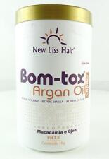 New Liss Hair BTOX Bom-tox Argan Oil Capilar Treatment 1Kg