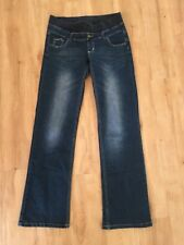Ladies PUMPKIN PATCH Maternity Jeans XS 6-8 Blue Denim Faded