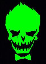 Green Joker Decal Car Sticker Laptop Dc Comics Harley Quinn Suicide Squad