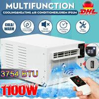 1100W 3754BTU Mobile Klimageräte Kühlung Heizung Luftkühler Air Conditioner 220V