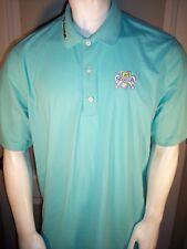 Greg Norman sz Xl Green Poly Golf Shirt Gsa Skin Sunscreen Ust Mamiya Foresight