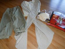 Adult Size Small 6-10 Rubie's Disney Star Wars Rey Halloween Costume Top Pants