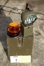 HANDSCHEINWERFER KEB 130/1 EISEMANN BUNDESWEHR LAMPE LEUCHTE WARNLEUCHTE ADR BW