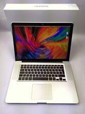 "✅  15,4"" Apple MacBook Pro A1286 i7 2,66GHz 8GB RAM OHNE HDD GeForce 330M"
