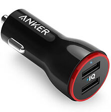 ANKER 4.8A / 24W 2-Port Rapid USB CAR CHARGER *BRAND NEW*