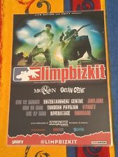 LIMP BIZKIT - 2018 AUSTRALIA Tour - Laminated Tour Poster - OFFICIAL!
