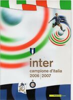 ITALIA -FOLDER 2007 - INTER CAMPIONE D'ITALIA 2006-2007- VALORE FACCIALE € 18,00